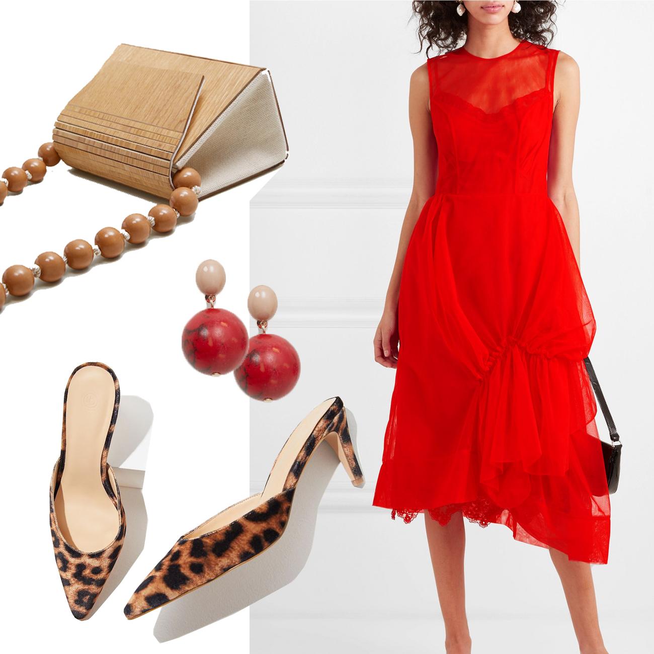 Valentinstag Outfit mit Tüll Kleid