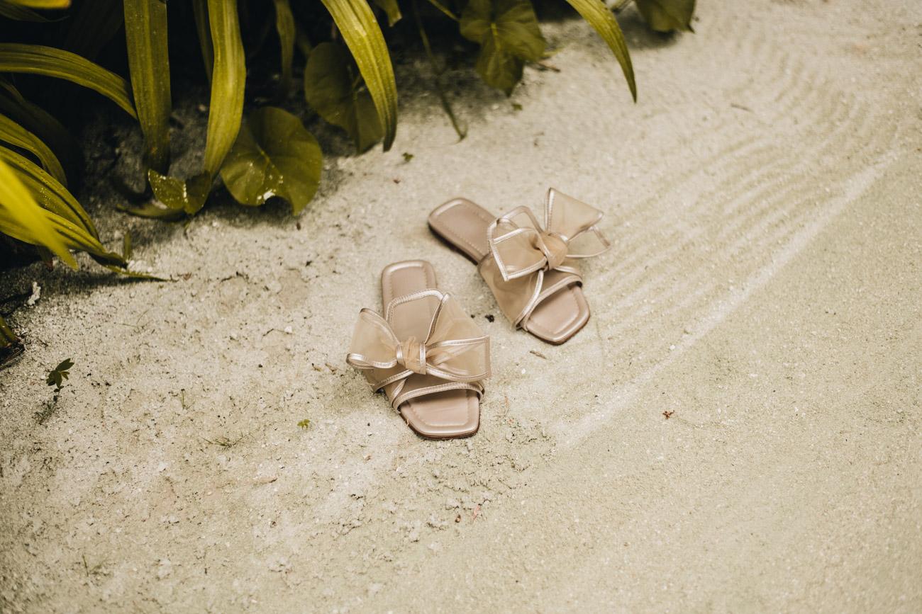 AGL Sandalen mit Schleife