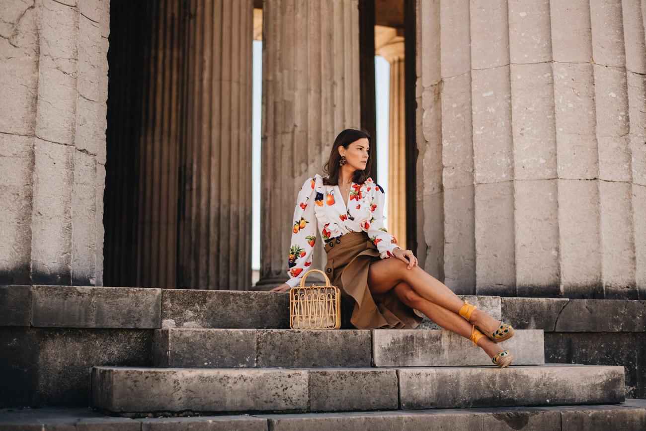 Sommer Outfit modern und tragbar