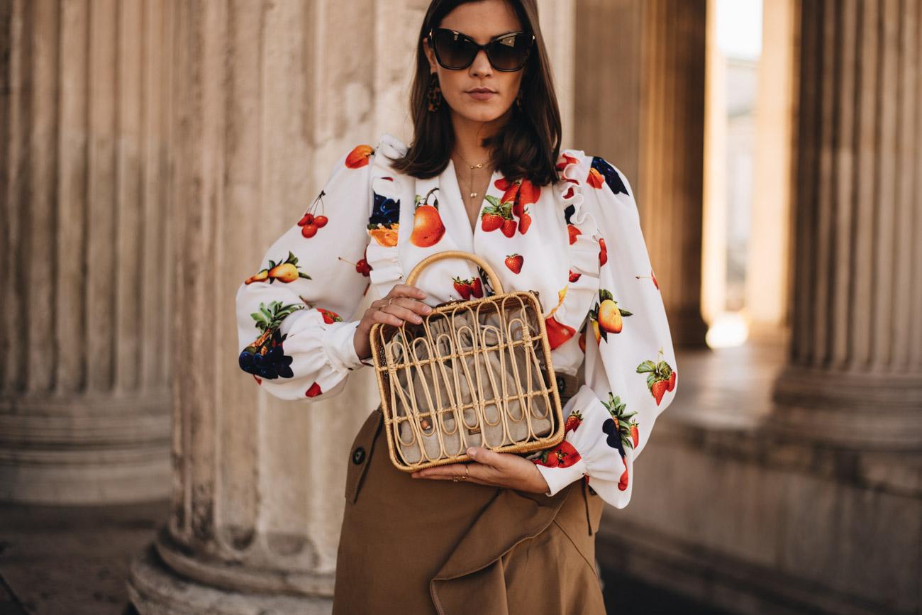 Holz und Bambus Handtaschen Trends 2019