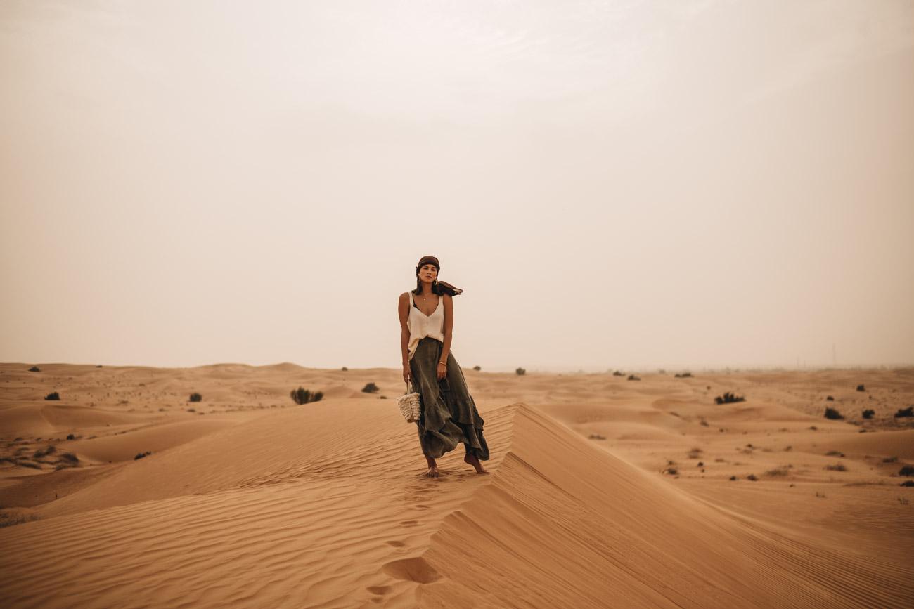 Fotoshooting in der Wüste
