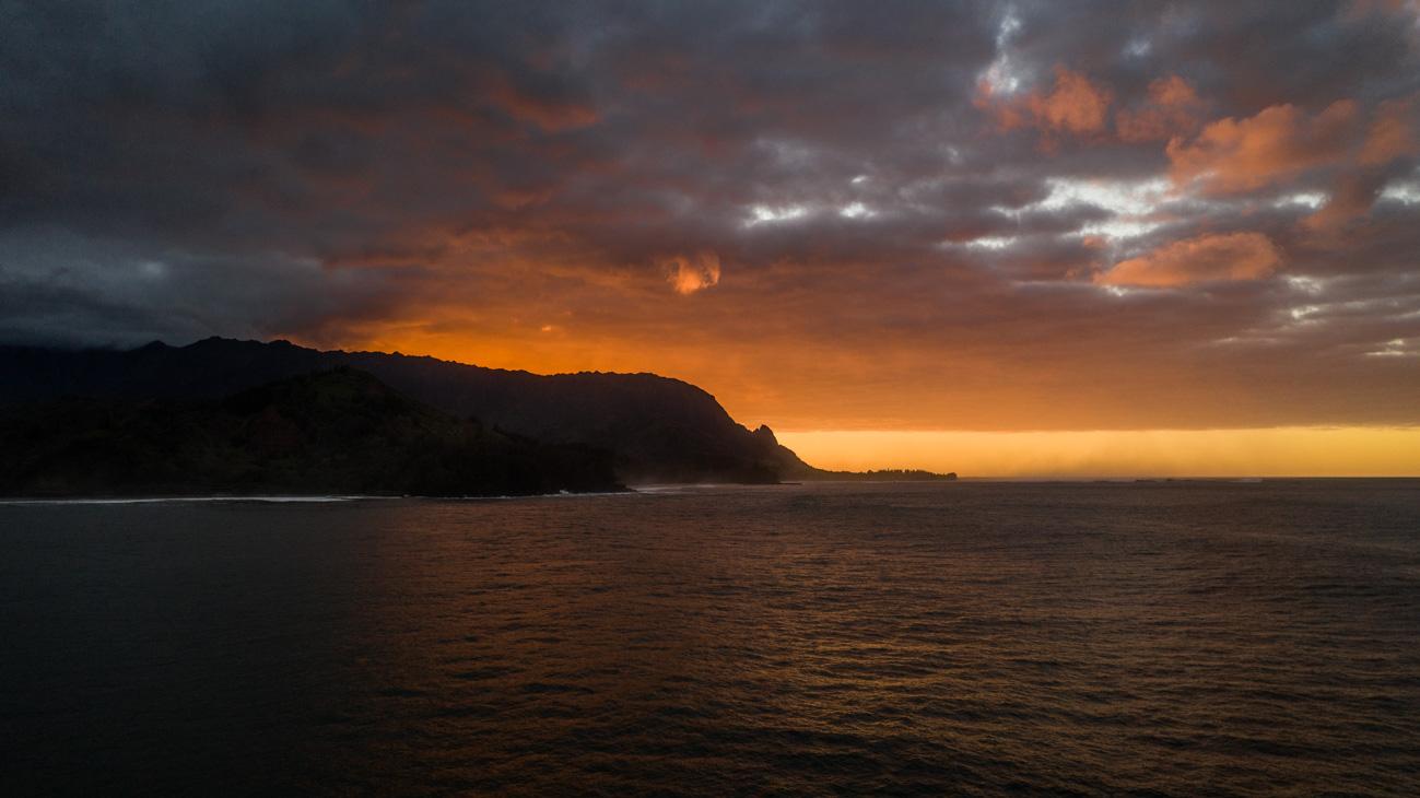 Kauai Hanalai Beach