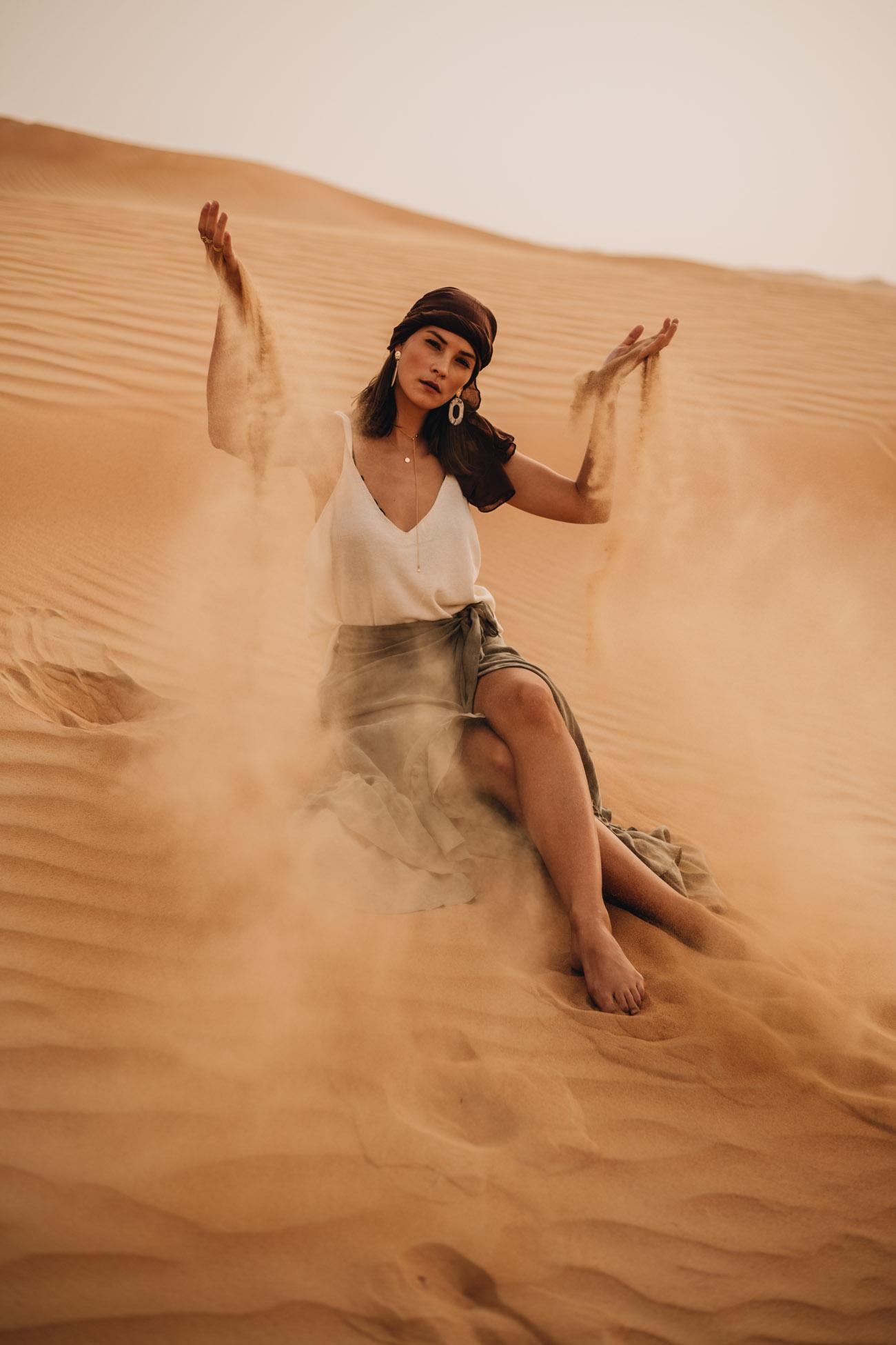 Fashion Editorial Desert