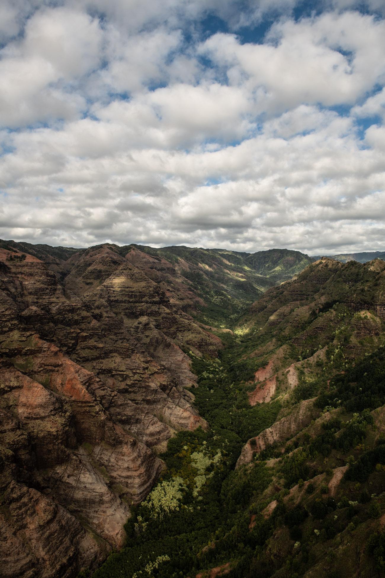 Hawaii Kauai Napali Coast helikopterflug Flug