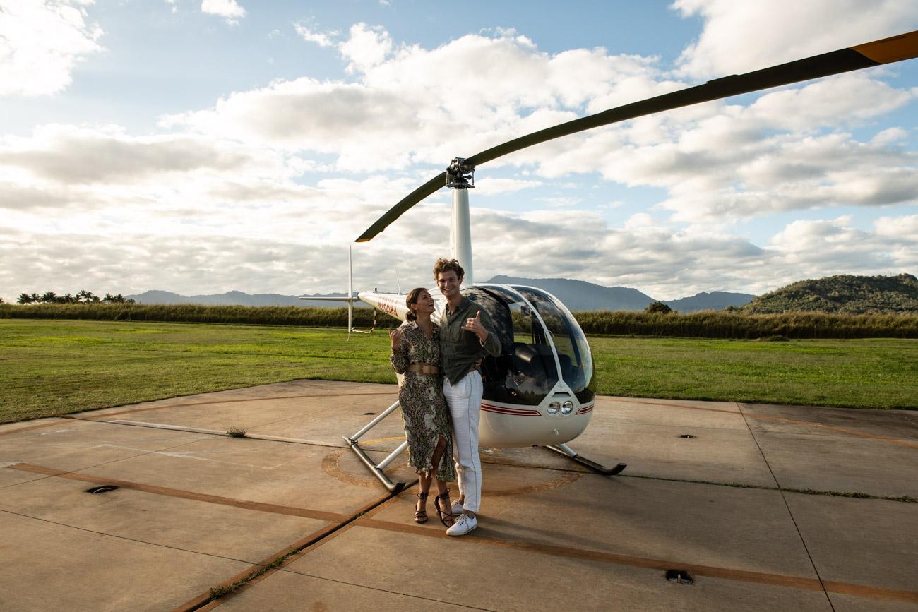 Napali Coast helikopterflug Flug