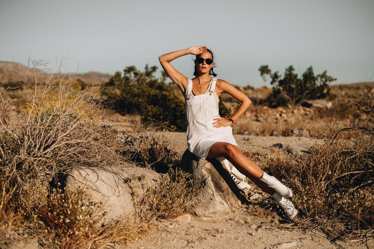 Wüsten Fotoshooting