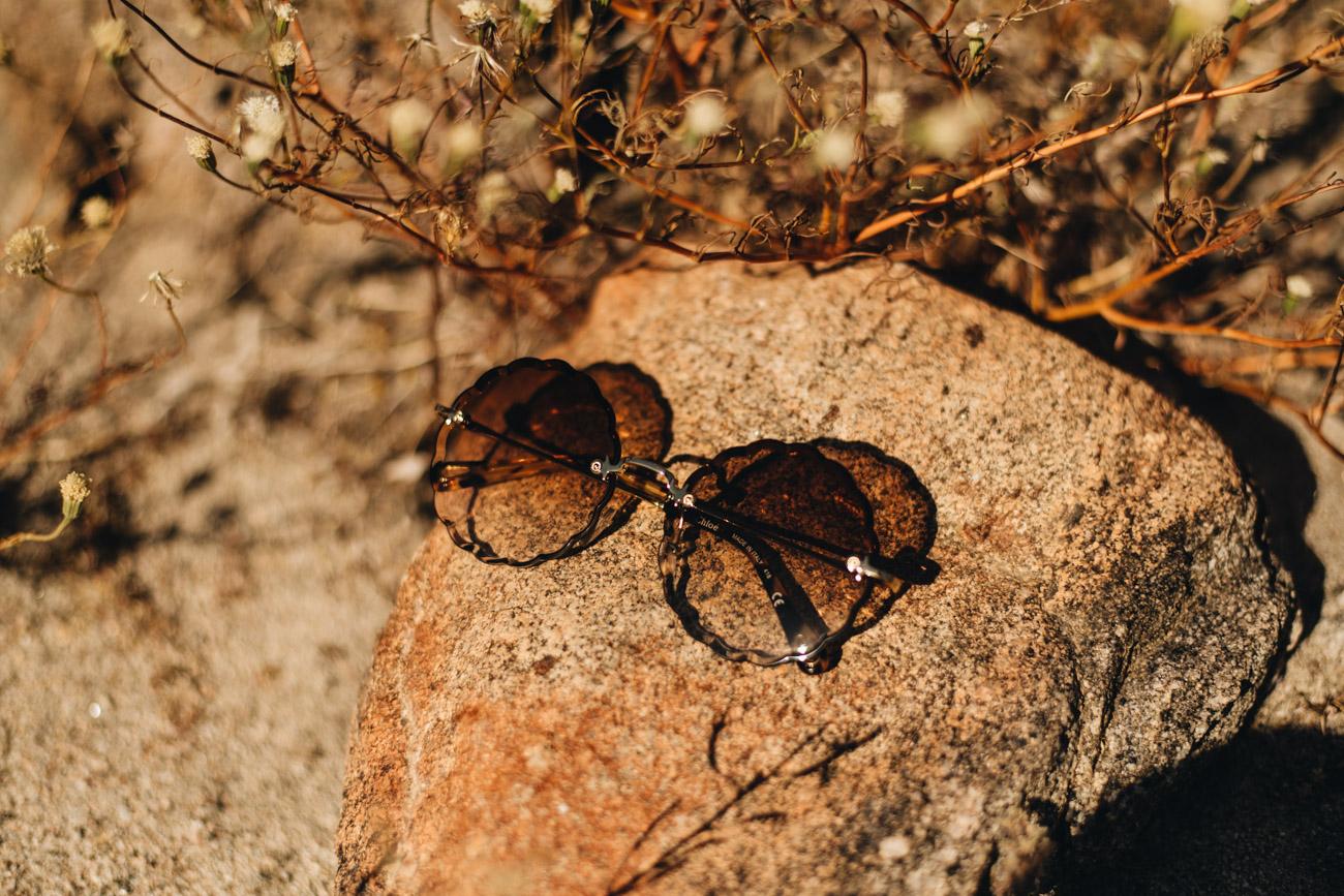 Runde Chloé Festival Sonnenbrillen