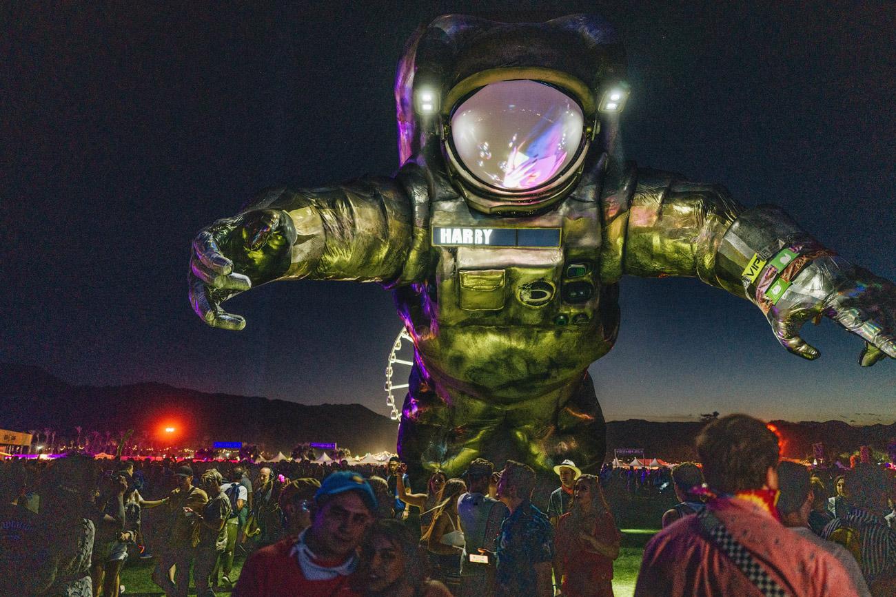 Coachella Festival Gelände
