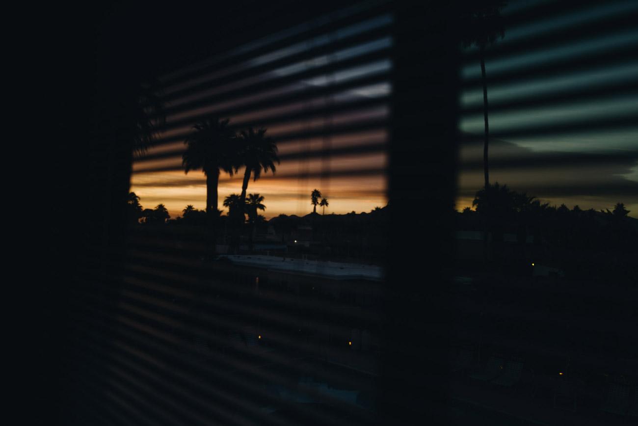 Palm Springs Sonnenuntergang