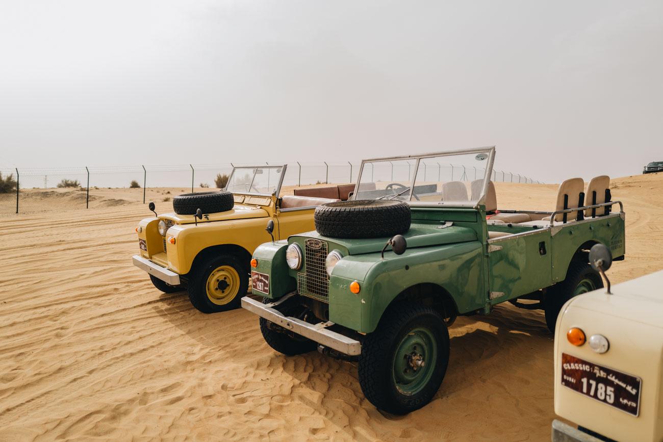 Dubai Wüsten Tour mit Oldtimern