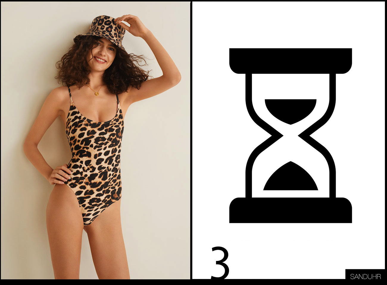 Bikini Bademode für Sanduhr Figur