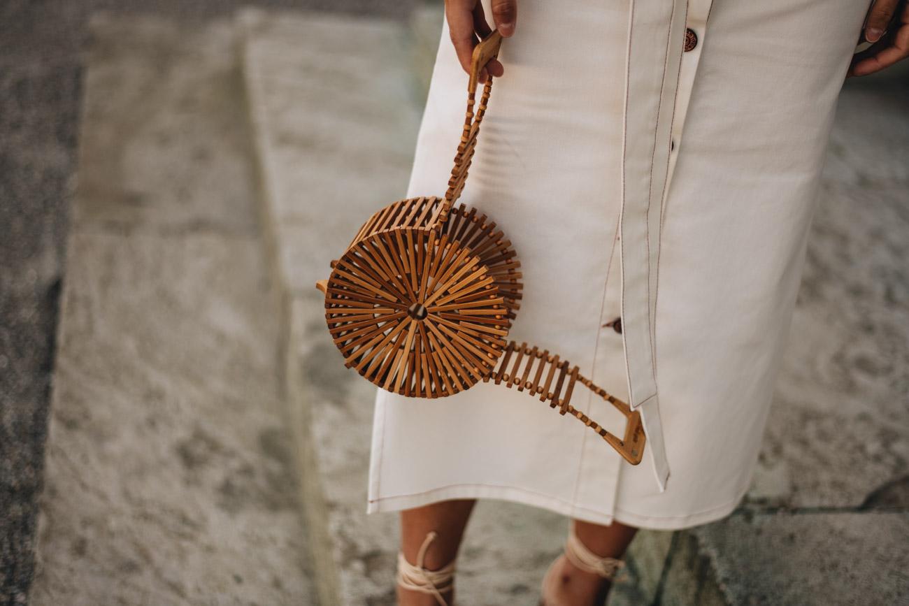 Cult Gaia Bambus Handtasche