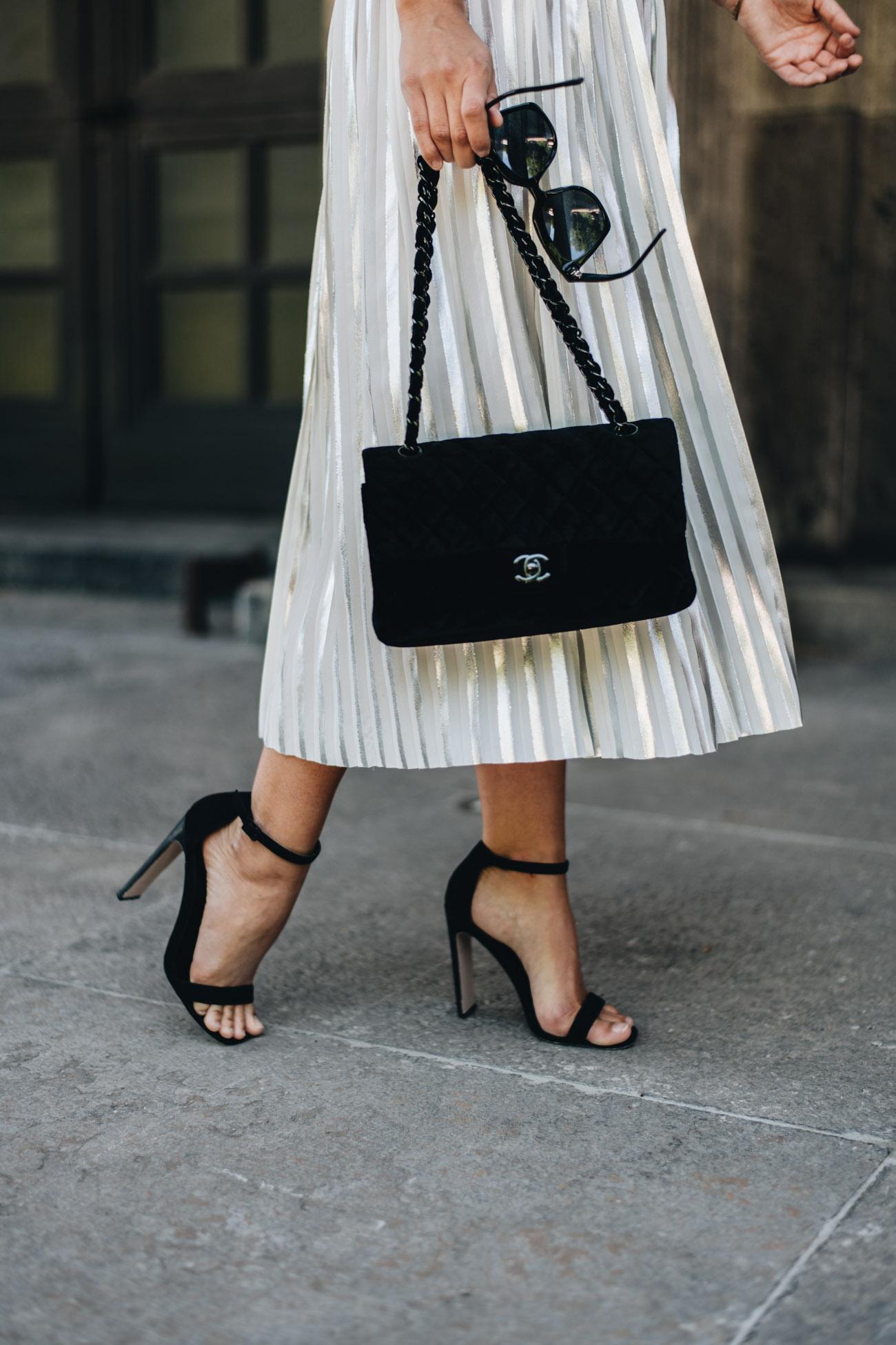 Chanel 2.55 aus Samt