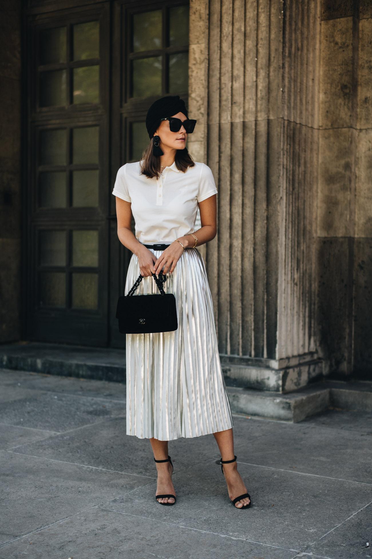Elegantes Outfit mit Poloshirt