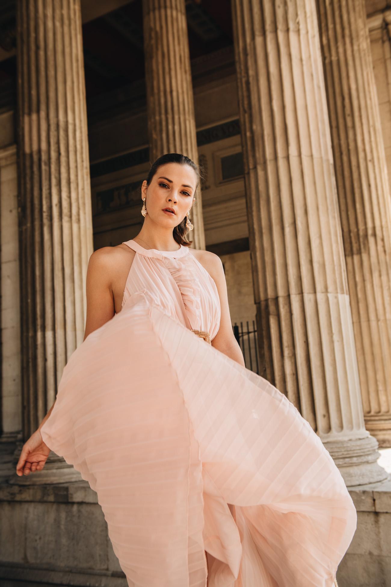 Sommeroutfit Idee mit Kleid