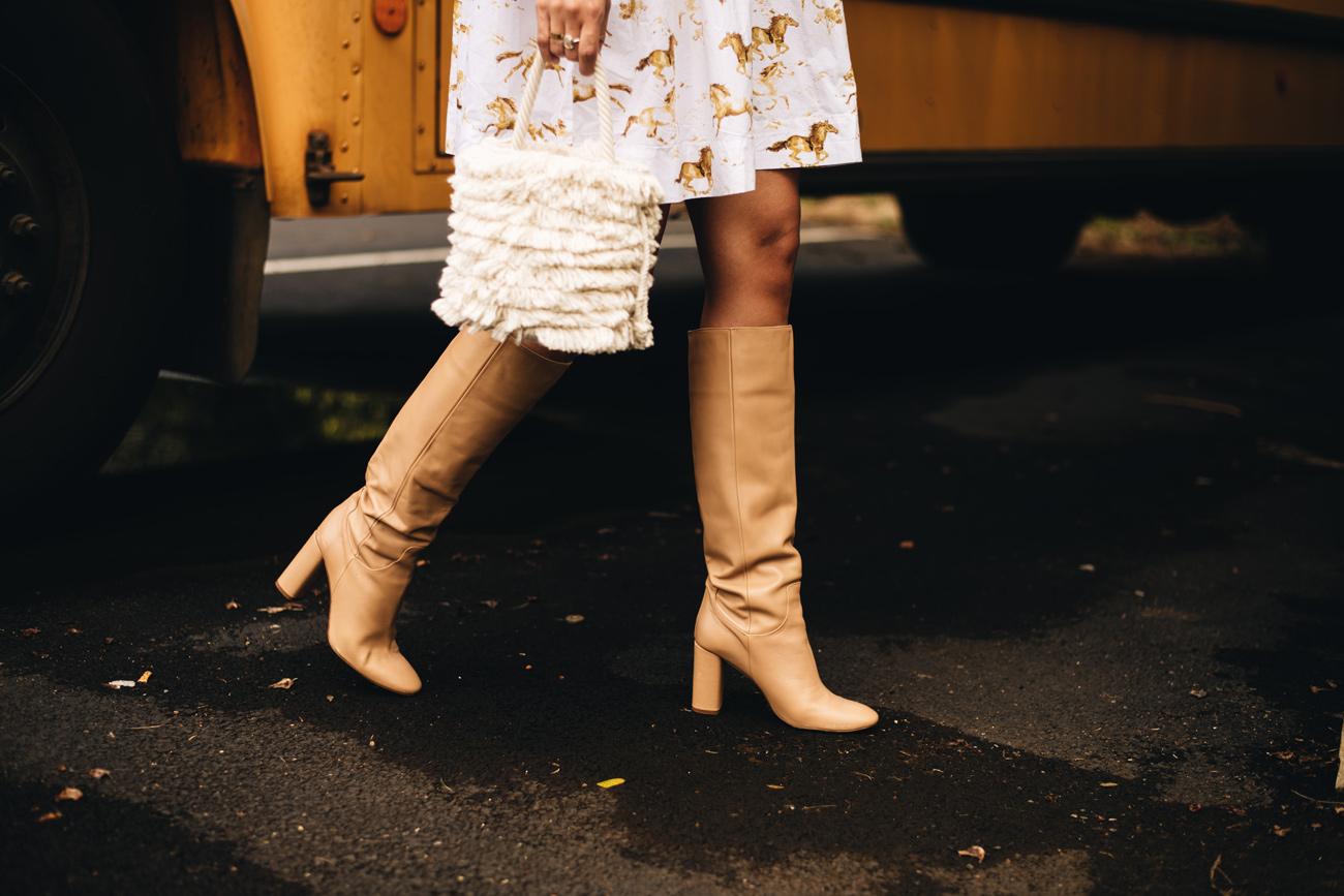 Schuhtrends 2019 kniehohe Stiefel