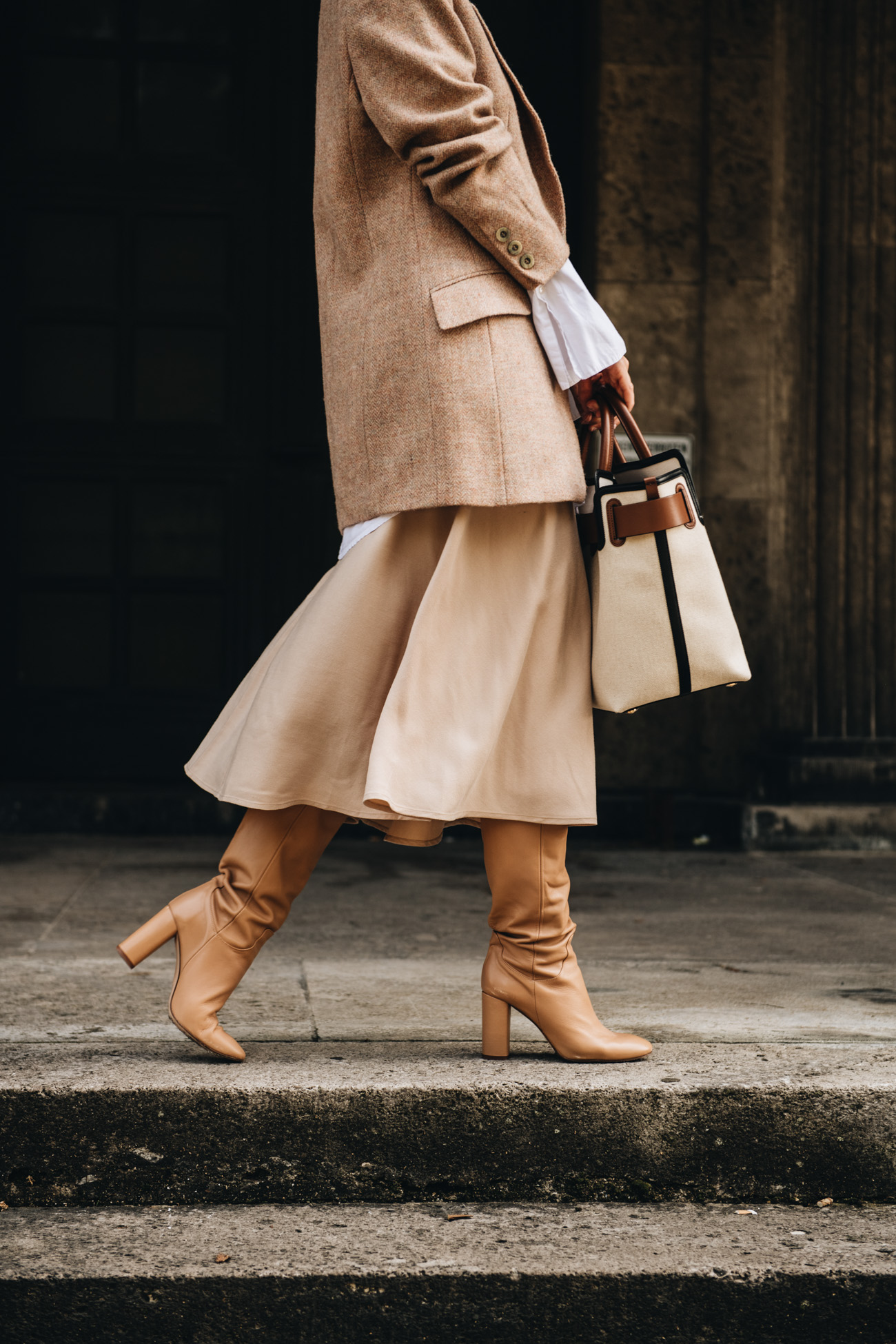 Herbst Outfit mit Layering