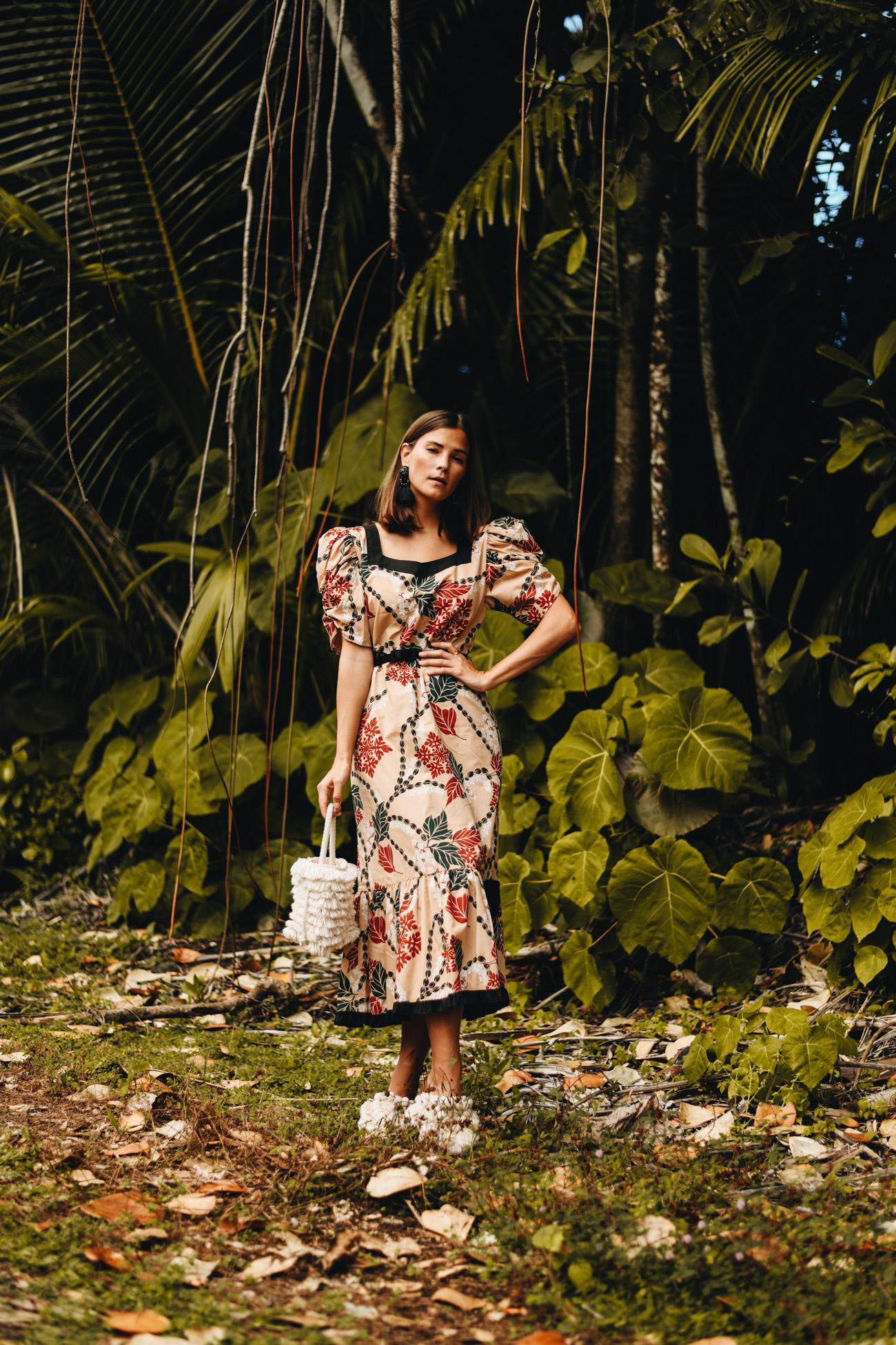 Modetrends 2020: tropische Muster & prints