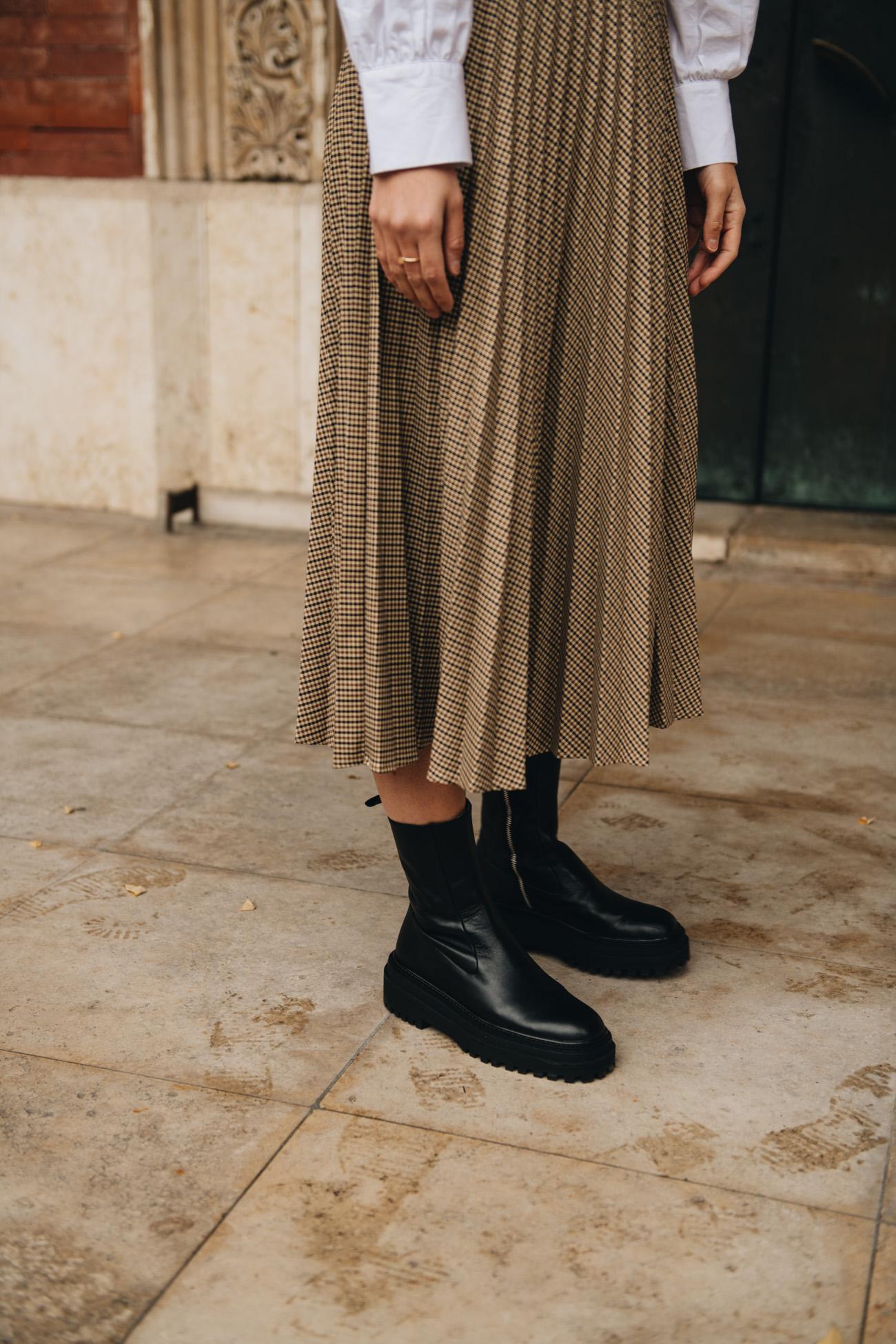 Plateau Boots á la Bottega Veneta