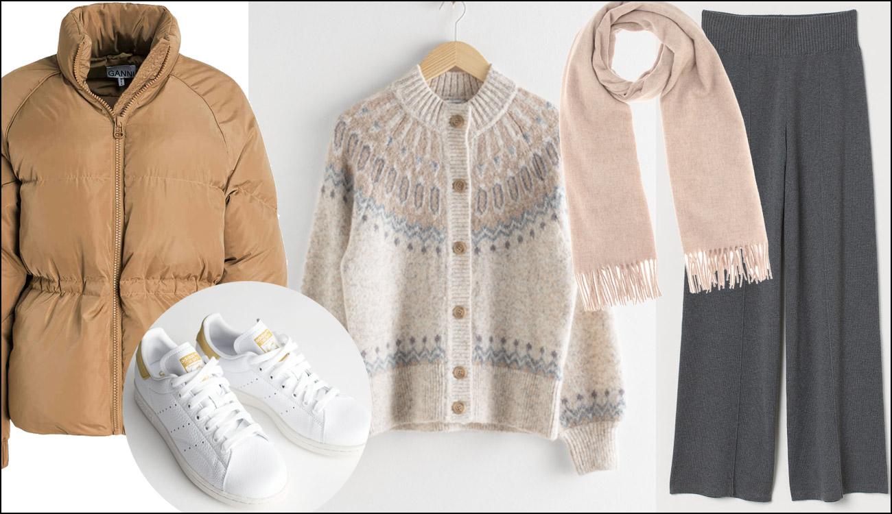 Winter Outfit warm und modisch