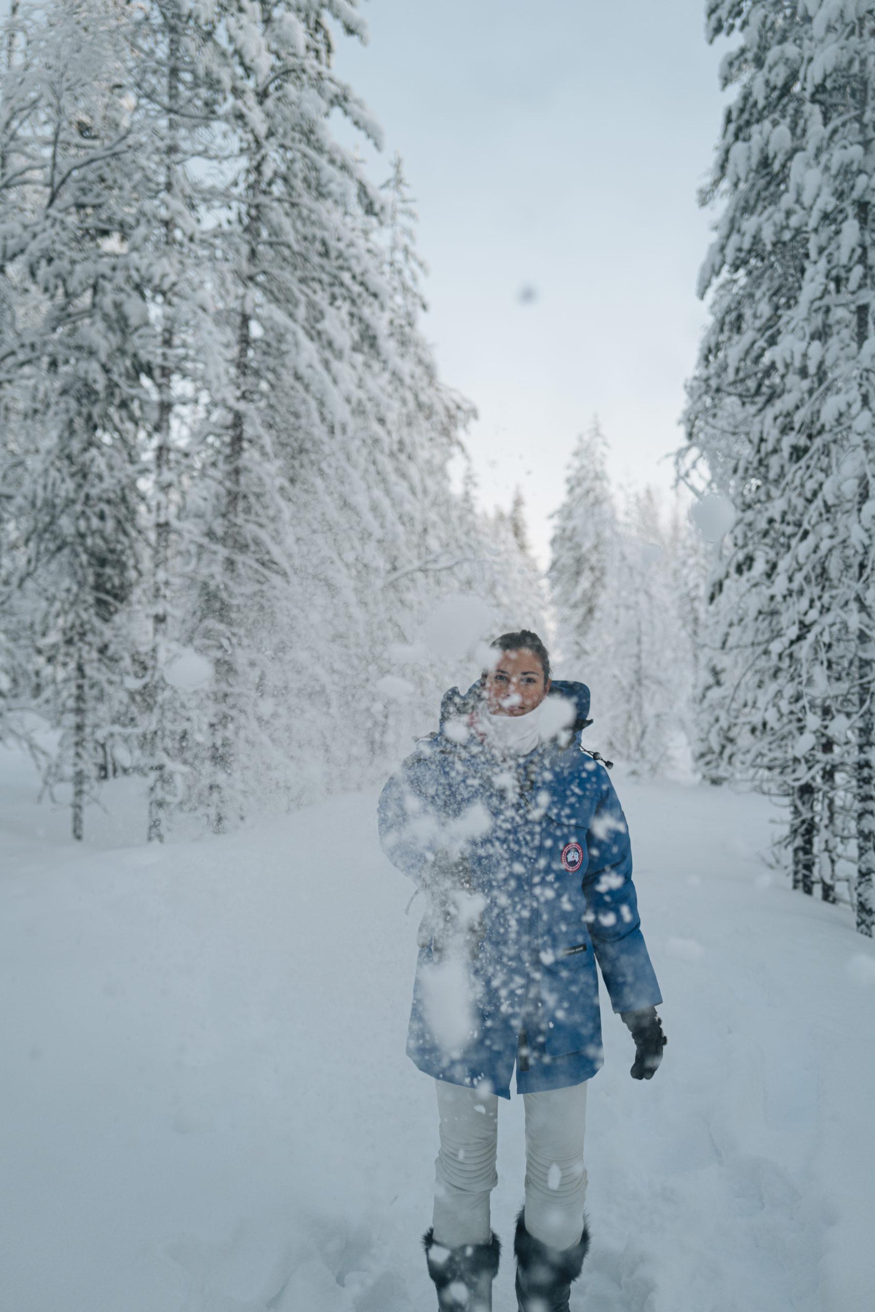 Kleidung Lappland Reise