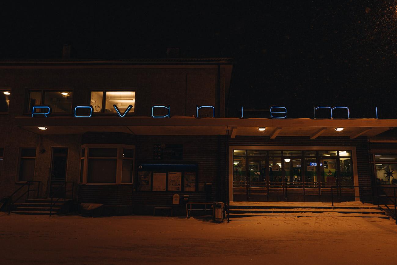 Rovaniemi Bahnhof