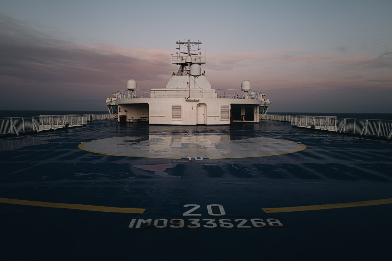 Anreise per Schiff Lappland