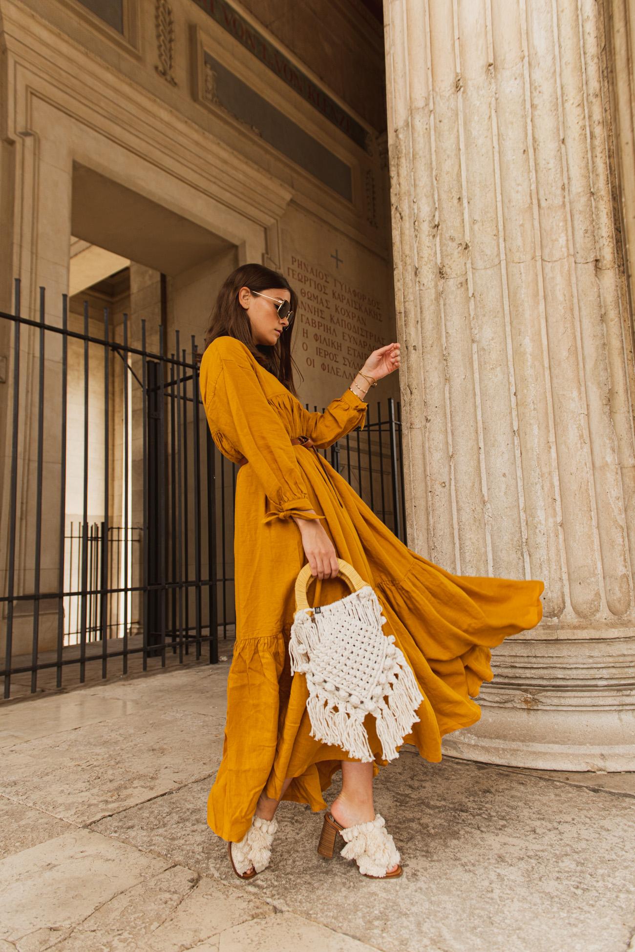 Kleid aus Leine