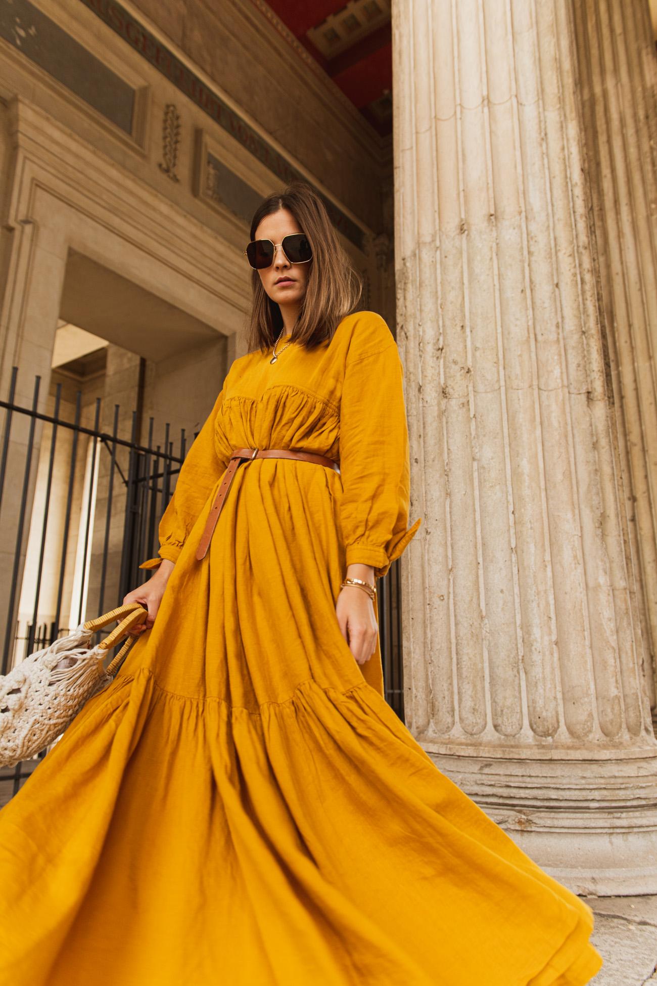 Sommerkleid aus Leine