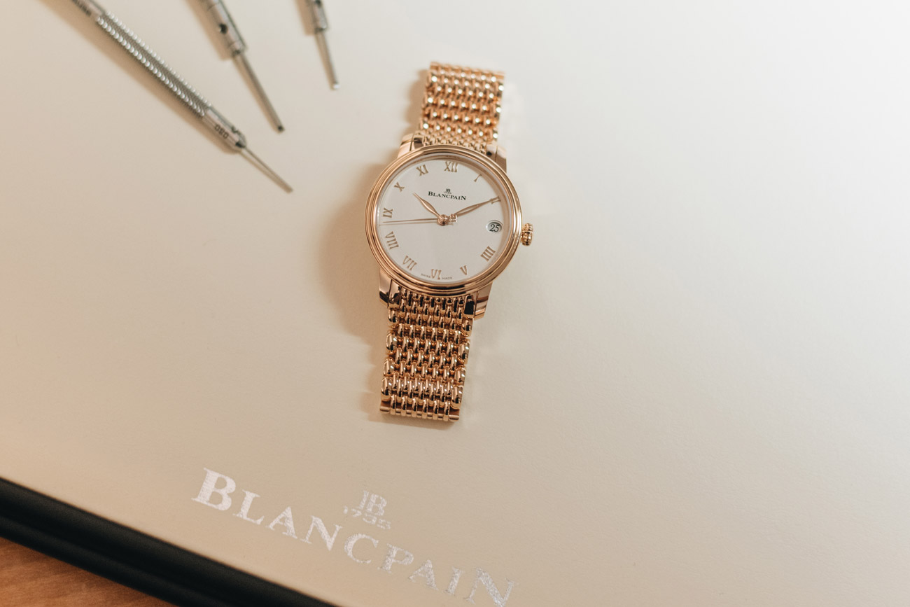 Blancpain VILLERET WOMEN DATE Modell