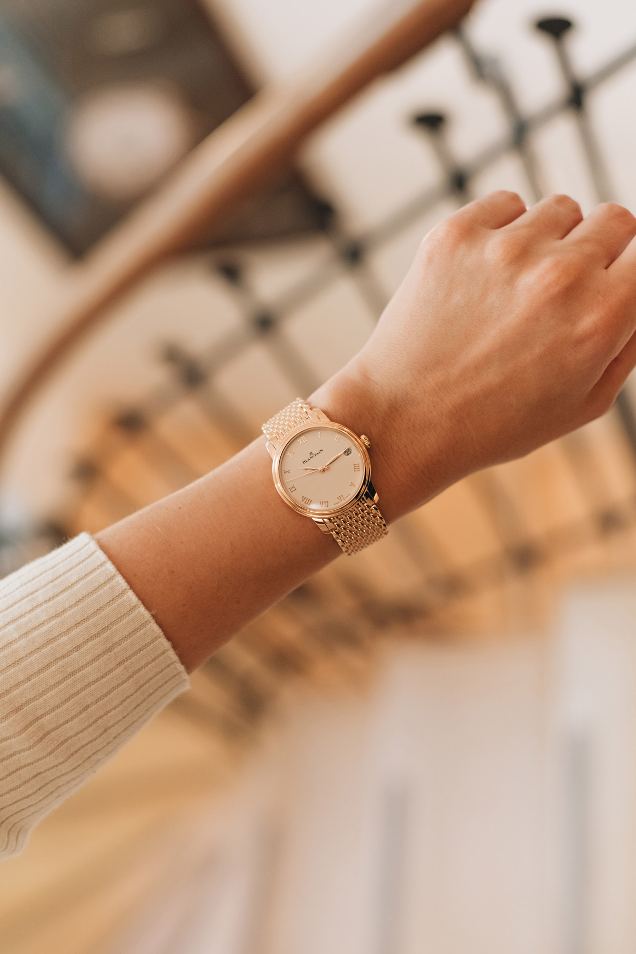 Blancpain VILLERET-WOMEN DATE Modell